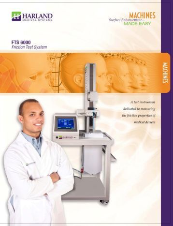 Page 1 MADE EASY MEDICAL SYSTEMS E FTS 6000 Friction Test ...