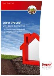 Liapor Ground Der ideale Baustoff für