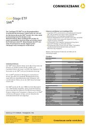Aktien 4: Anteile Comstage ETF SMI