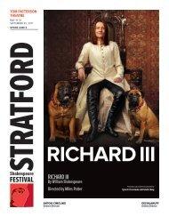 RichaRd iii - Stratford Festival