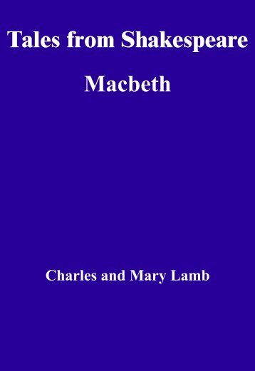 Tales from Shakespeare, Macbeth - RFL eBook Library