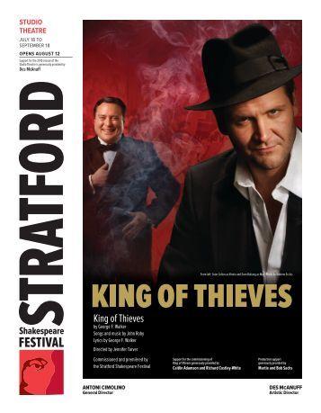 King of Thieves - Stratford Festival