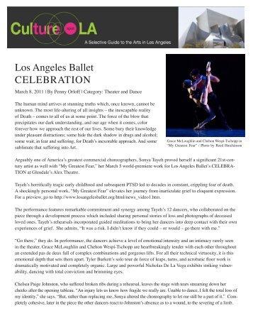 Los Angeles Ballet CELEBRATION