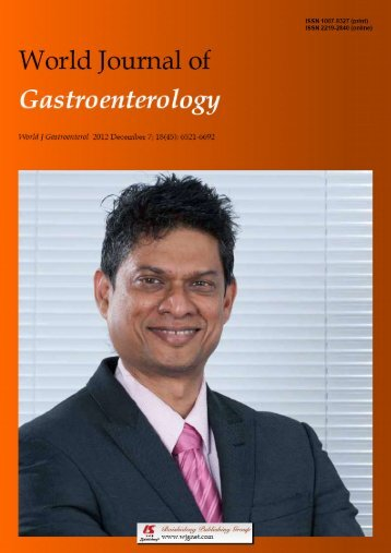 45 - World Journal of Gastroenterology