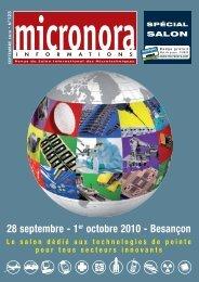 28 septembre - 1er octobre 2010 - Besançon - Micronora