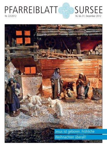 PFARREIBLATT SURSEE - Pfarrei Sursee