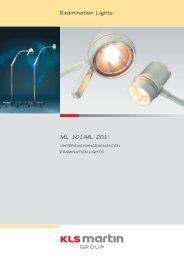 Examination Lights ML 101/ML 201 - KLS Martin - KEBOMED