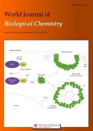 World Journal of Biological Chemistry