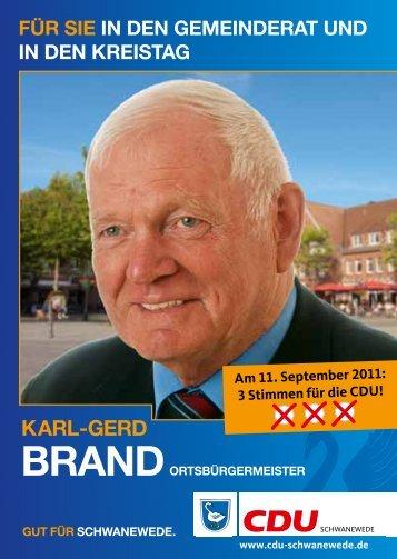 Karl-gerd - CDU Schwanewede