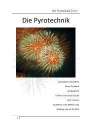 Die Pyrotechnik (Sören Gundlach, 2012) - Freiherr-vom-Stein-Schule
