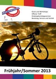 Unsere Kurse für Frühjahr/Sommer 2013 - Katakombe