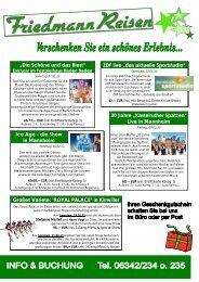 Kastelruther Spatzen - Friedmann-Reisen