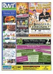 Oktober 2010 www.live-acts24.de