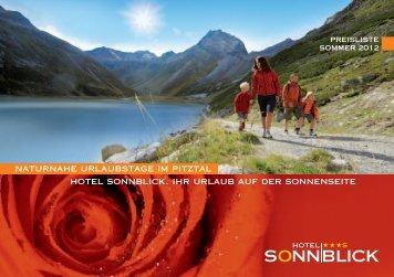 downloaden - Hotel SONNBLICK
