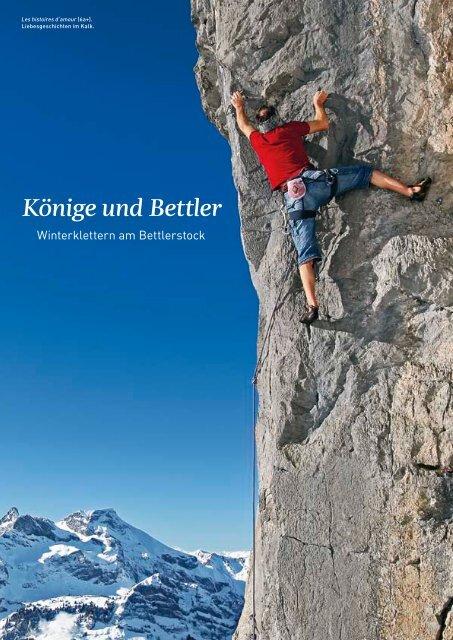 Könige und Bettler - Winterklettern am Bettlerstock - Brunni Engelberg