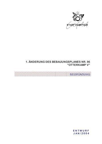 Begründung zum Bebauungsplan im PDF-Format - Stadt Coesfeld