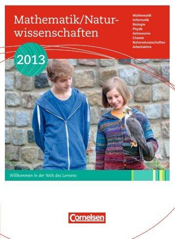 Mathematik/Natur- wissenschaften - Cornelsen Verlag