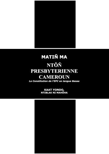 MATIŅ MA - pasteur tjomp jacques rene