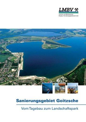 Sanierungsgebiet Goitzsche - vom Tagebau zum ... - LMBV
