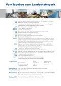 Sanierungsgebiet Goitzsche - vom Tagebau zum ... - LMBV - Seite 2