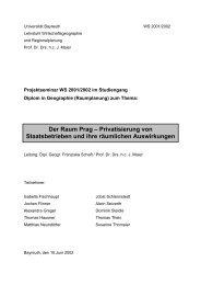 1. Der Transformationsprozess in der Tschechischen Republik