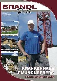 Ausgabe 06 - August 2009 - Brandl-Bau