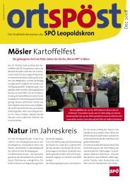 spoe leopold 1108.indd - SPÖ Salzburg