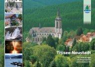 Infobroschüre Titisee-Neustadt - infoprint Verlag