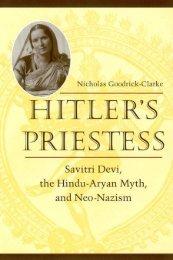 Hitler's Priestess : Savitri Devi, the Hindu-Aryan Myth, and Neo-Nazism
