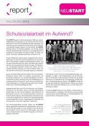 report Salzburg 2012 - Neustart