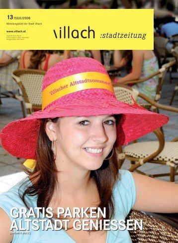 GRATIS PARKEN ALTSTADT GENIESSEN - Villach