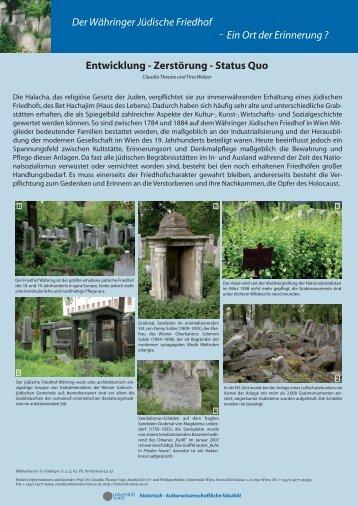 Poster der Ausstellung als .pdf Datei - Historische Archäologie ...