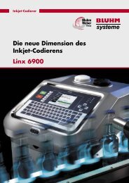 Die neue Dimension des Inkjet-Codierens Linx 6900