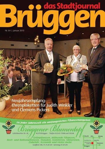 Stadtjournal Januar 2013.pdf - Stadtjournal Brüggen