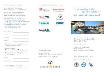 Programm - Deutsche Gesellschaft für Allgemein