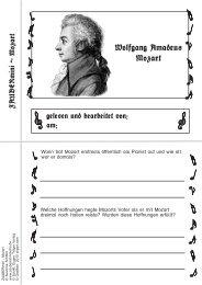 Wolfgang Amadeus Mozart - Zaubereinmaleins