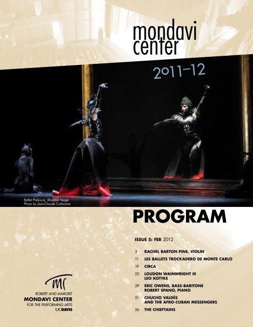 Download Pdf Mondavi Center