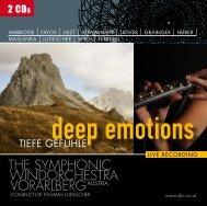 Detailansicht - Sinfonisches Blasorchester Vorarlberg