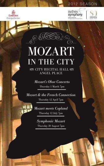 Mozart in the City - Sydney Symphony Orchestra