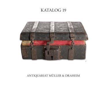 KATALOG 19 - Antiquariat Müller & Draheim