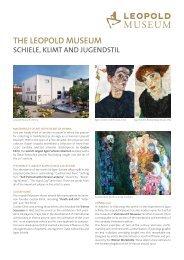 the leopold museum schiele, klimt and jugendstil
