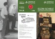 FOLDER Egon Schiele-Dokumentationszentrum - Leopold Museum