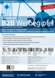 Programm Download (PDF) - The Conference Group GmbH