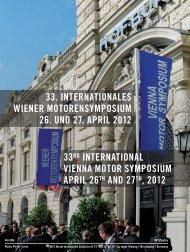 Nachlese zum 33. Internationalen Wiener Motorensymposium
