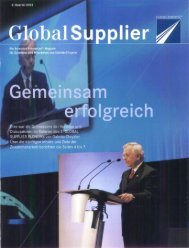 Download Global Supplier Magazin [Ausgabe 02/2002] - Daimler