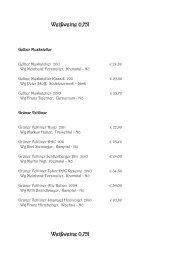 Weißweine 0,75l Weißweine 0,75l - Rotes Haus