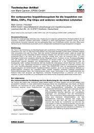 Ein verbessertes Inspektionssystem für die Inspektion von BGAs - Ersa