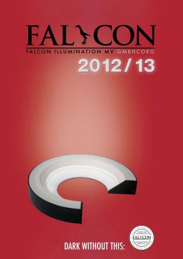 ( ) FALTEC Produkt-Katalog - Falcon LED Lighting