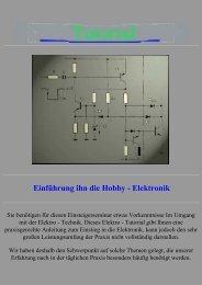 Einführung ihn die Hobby - Elektronik