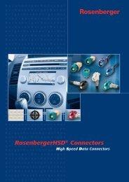 Print Katalog - Rosenberger Hochfrequenztechnik